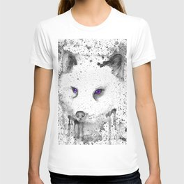 black and white : Fox T-shirt