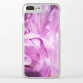 Flower 39 Clear iPhone Case