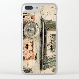Waterford Door Clear iPhone Case