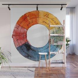 Goethe's Color Wheel (1809) Wall Mural