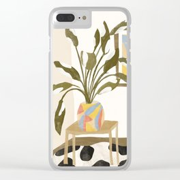 The Plant Room Clear iPhone Case