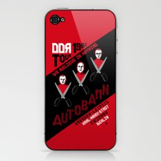 Autobahn--East German Tour 1982 iPhone & iPod Skin
