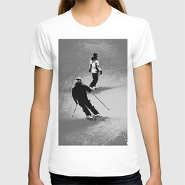Skiing and Snowboarding Winter Fun T-shirt