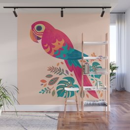 Scarlet Macaw Wall Mural