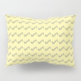 Nola ...Pale  yellow Pillow Sham