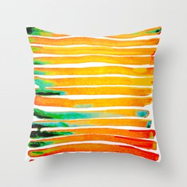 For Africa The Land of Gold Throw Pillow