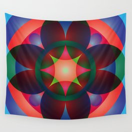 Atoms 45 Wall Tapestry