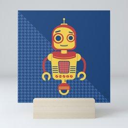 Rob-Bot04 Mini Art Print