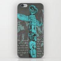 alaska iPhone & iPod Skins featuring Alaska by Last Call