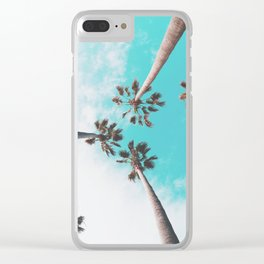 Cali Dreamin' Clear iPhone Case