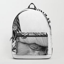 asc 768 - La baronne perchée (The girl who was not afraid of heights) Backpack
