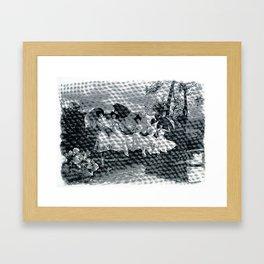 Summer Gathering  Framed Art Print