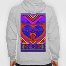 Art Deco Valentine Hoody