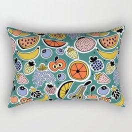 Fruity pattern Rectangular Pillow