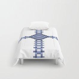 Flower Pixel Lock. Comforters