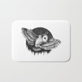 THE NIGHT FLIGHT Bath Mat