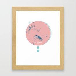 WE SPARKLE #2 Framed Art Print