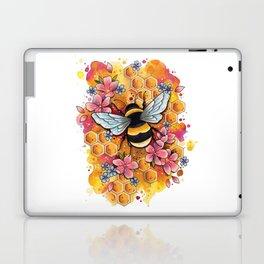 Neo Traditional Bee Laptop & iPad Skin