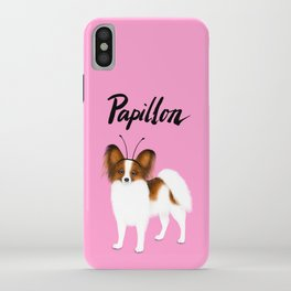 Papillon (Pink) iPhone Case