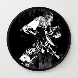 Ice Hockey Goalie Wall Clock