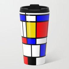 Art work inspired to P. Mondrian (n.1) Travel Mug
