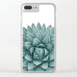 Green Agave Chic #1 #succulent #decor #art #society6 Clear iPhone Case