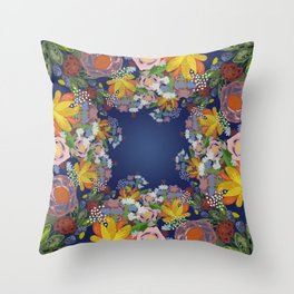 Encircled Garden Throw Pillow