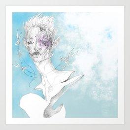 sh3 b@ng Art Print