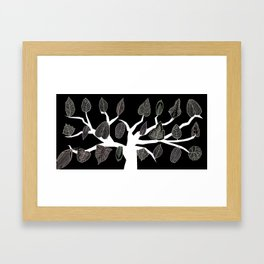 Pipettu - Eating Leaves (Spread 4 of 10) Framed Art Print