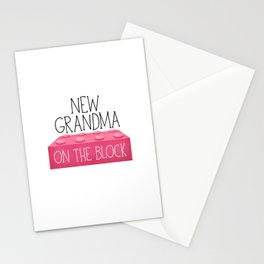New Grandma On The Block Stationery Cards