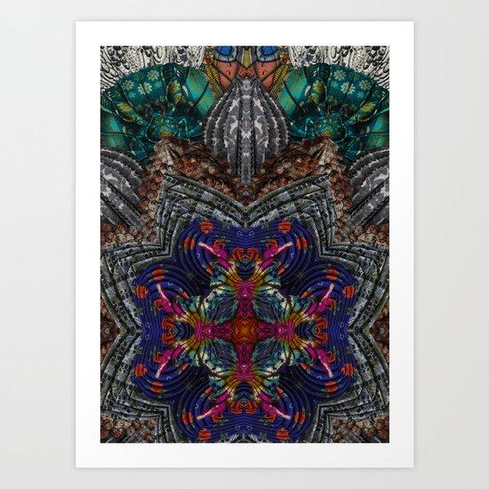 Psychedelic Botanical 16 Art Print