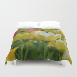 May Flowers For Mom Duvet Cover