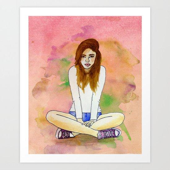 Mood today Art Print