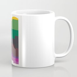 Shapes of Montreal. Accurate to scale. Coffee Mug