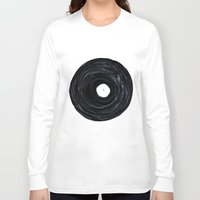 vinyl Long Sleeve T-shirts featuring Vinyl by Stacy Innerst