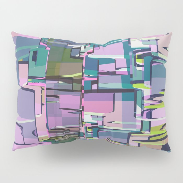 Abstract Composition 641 Pillow Sham
