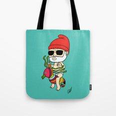 Zissou Crayon Ponyfish Tote Bag
