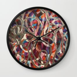 Reticulated Wall Clock