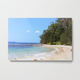 Huskisson, Jervis Bay NSW Metal Print