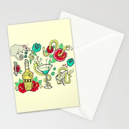 Snake Flash Stationery Cards
