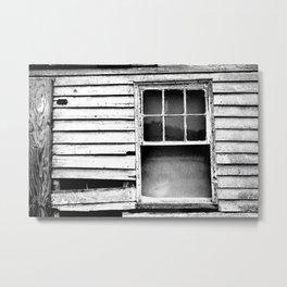 Window Treatment Metal Print