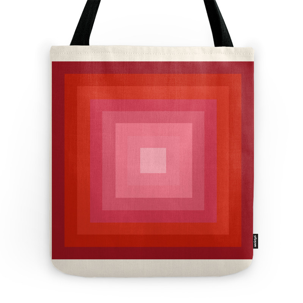 Buggin' Out - Retro 70S Throwback Minimal Art 1970S Style Abstract Colorful Tote Purse by seventyeight (TBG7405597) photo
