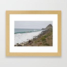 Point Mugu, California Framed Art Print