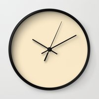naked Wall Clocks featuring Naked by Color Project