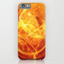 Essence Orange iPhone Case