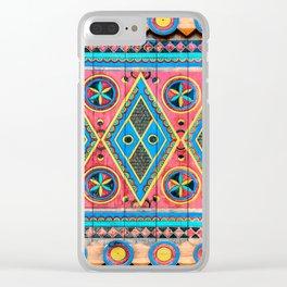Saudi Colors Clear iPhone Case