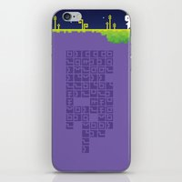 fez iPhone & iPod Skins featuring FEZ - Conspire to Tesselate by Reed Erlandson