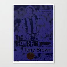 The Bomber - Tony Brown Canvas Print