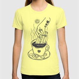 I Like My Coffee With a Taste of Good Music T-shirt