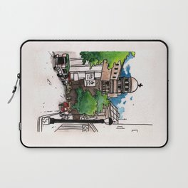 Philippines : Santa Cruz Church Laptop Sleeve